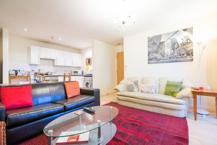 Cozy apartment close to City - Salford - Flat