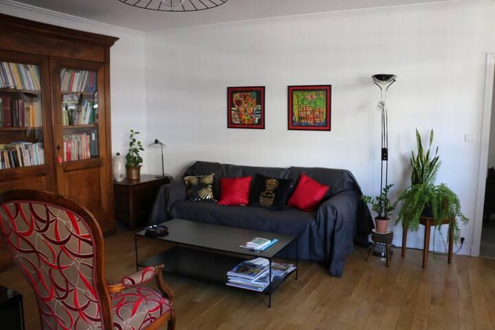 chambre calme dans appartement hyper centre ville