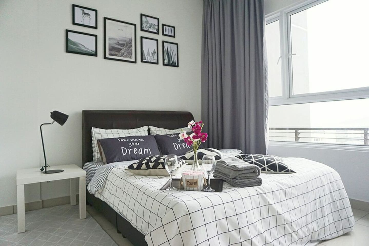 The perfect place to have a stay with the cozy environment, the newly renovation and furnishing