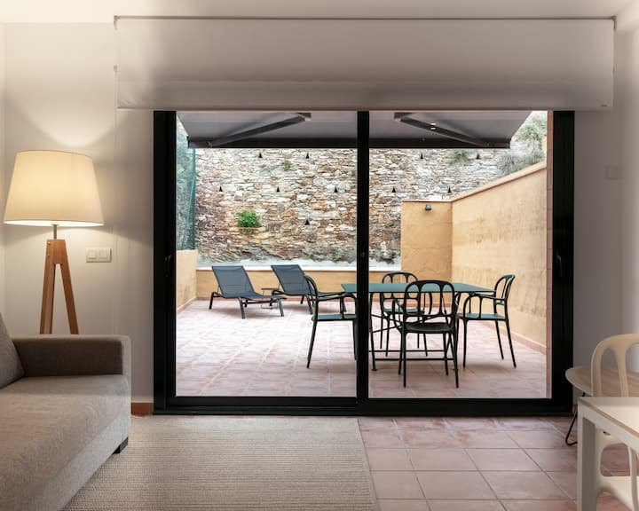 Two bedrooms apartament with an amazing terrace