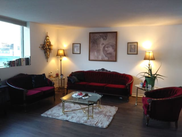 Elegant downtown condo in London Ontario Canada.