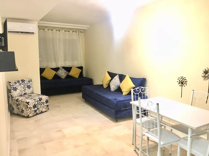 Very Nice flat in center of marrakech AC/wifi/IPTV