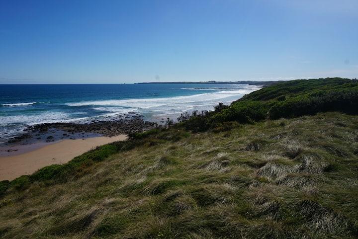 'Our Beach House' at surf beach