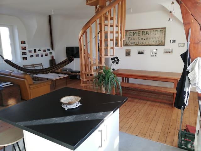 Vue de la cuisine