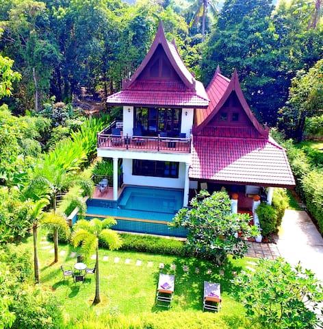 K Chang 6 BR Sea View Villa w/ Pool