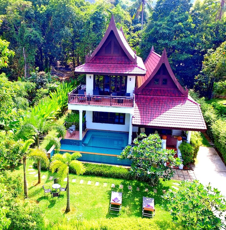 Koh Chang 6 bedroom Sea View Villa with Pool