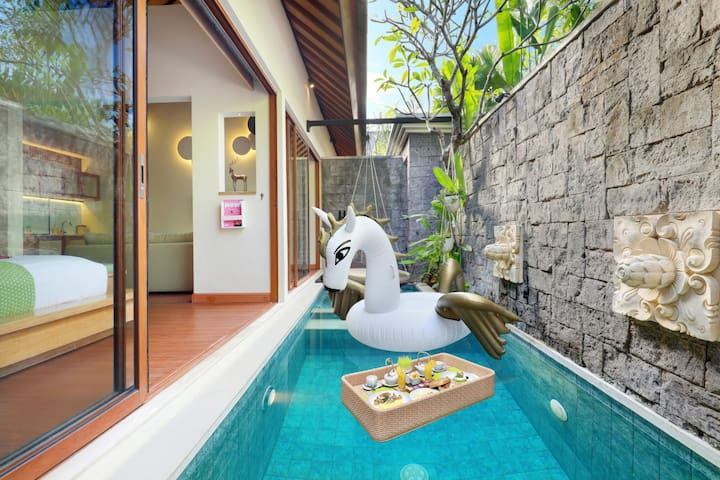 """""""Monthly Rental"""" 1 Bedroom Private Pool & Jacuzzi"""