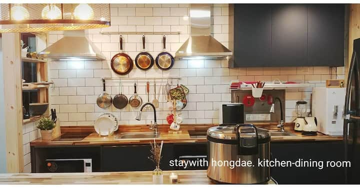 Staywith hongdae single room 509