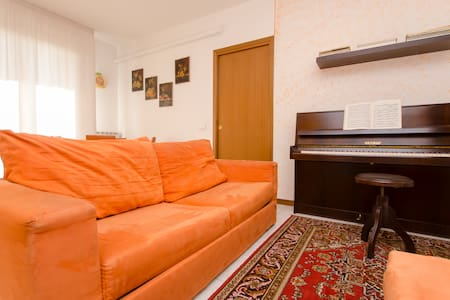 comfortable sofa in the living room - Treviglio