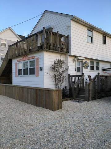 3rd home from OCEAN, BEACH HAVEN, LBI, 4 Bedrooms. - Beach Haven - House