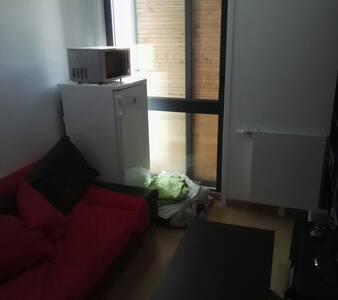 Salon + Chambre privée vers Tramway - 第戎