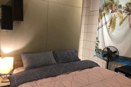 Cozy ensuite double room, 3 minutes walk to beach