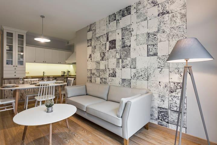 Salt Apartment (1 bedroom, 50 sq.m) - Druskininkai - Flat
