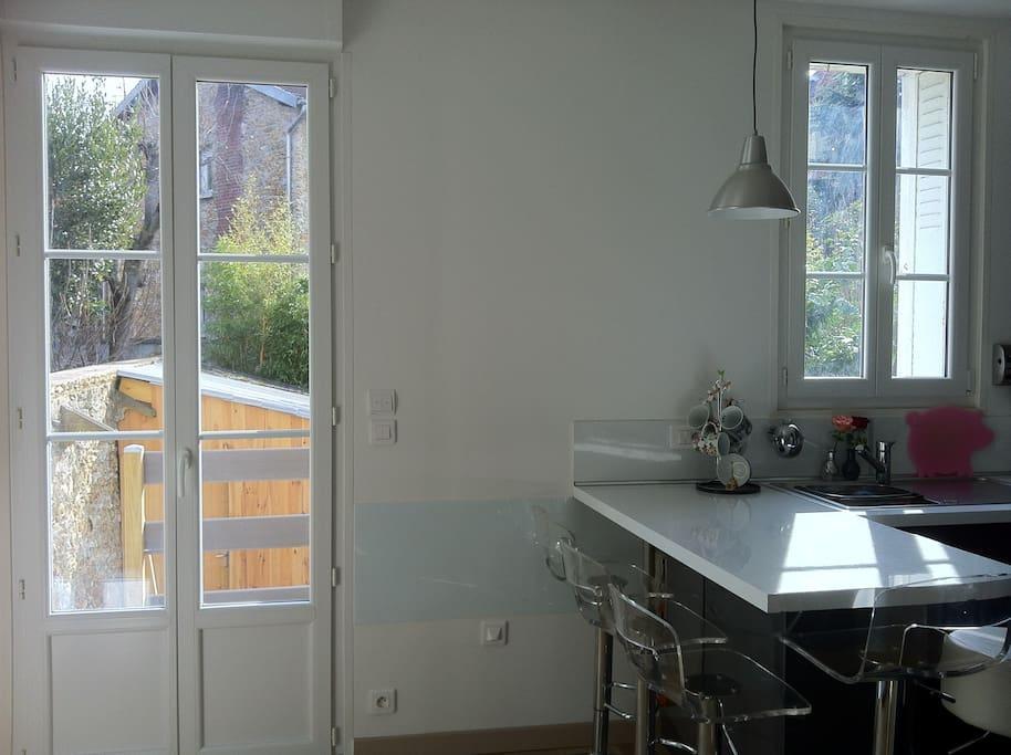 Confortable appartement avec jardin apartments for rent for Appartement clamart gare