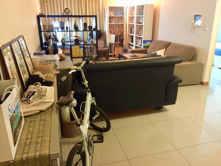 台北大學-明亮安靜雙人房Bright and quiet double room near NTPU