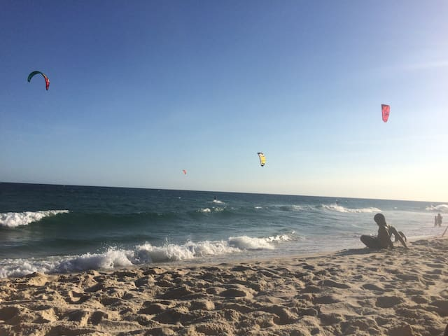 Great spot for those into kite and wind surfing.