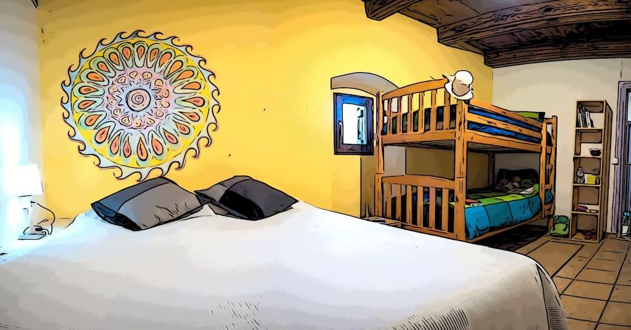 Chambre familiale 4 couchages Randonnée VTT ski