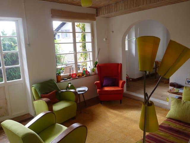 Maison individuelle + petit jardin - Belmont-sur-Lausanne