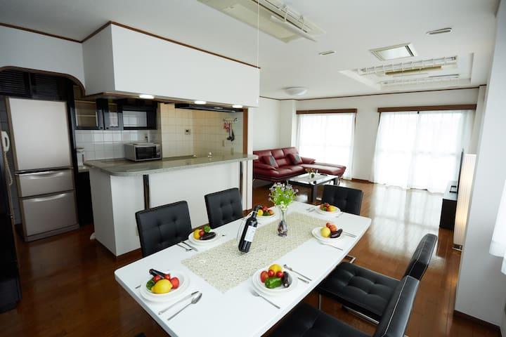 Asakusa 160sqm 5 bedrooms, 1min. subway, 2 toilets - 台東区 - Leilighet