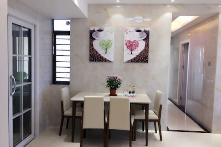 Cosy flat 3 bedrooms on 48F Near Shenzhen North ST - Shenzhen