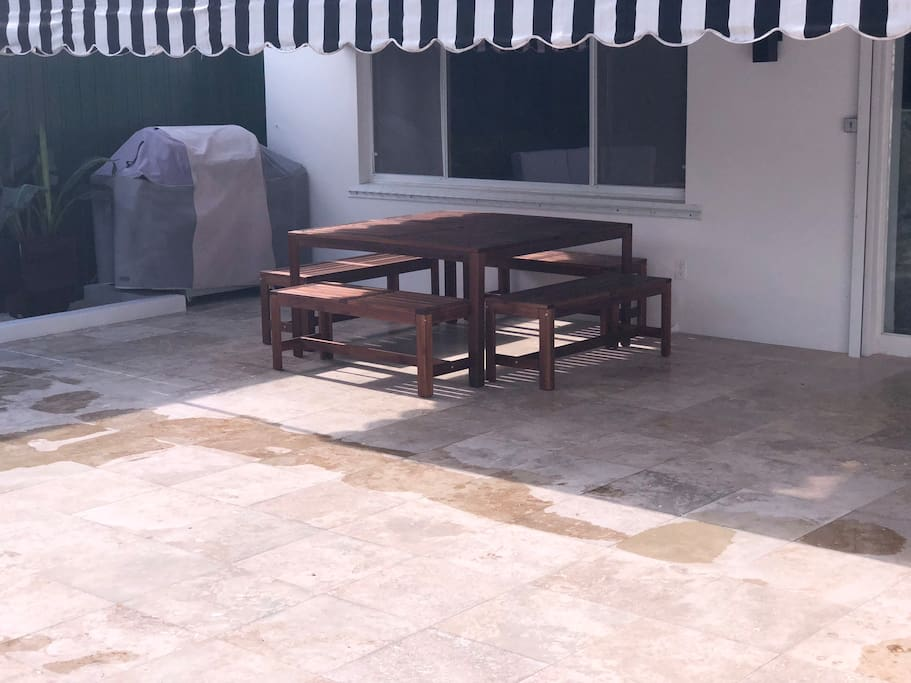 Grill and Relax on the spacious patio