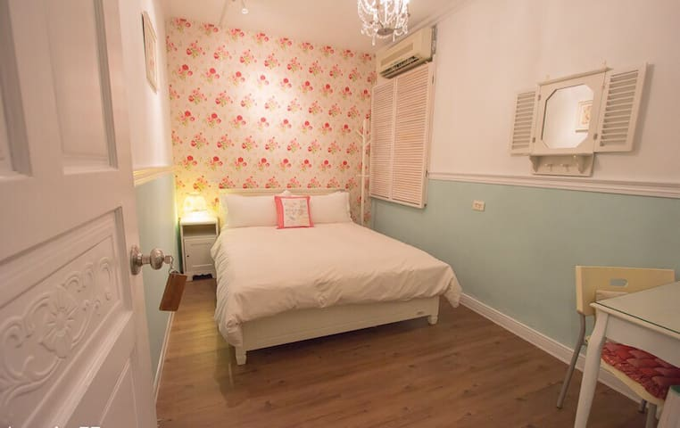 Xinyi-double room, 1min to MRT, close to 101 #2