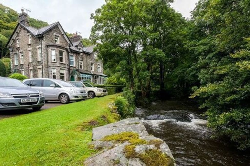 The gentle sound of the river Rothay