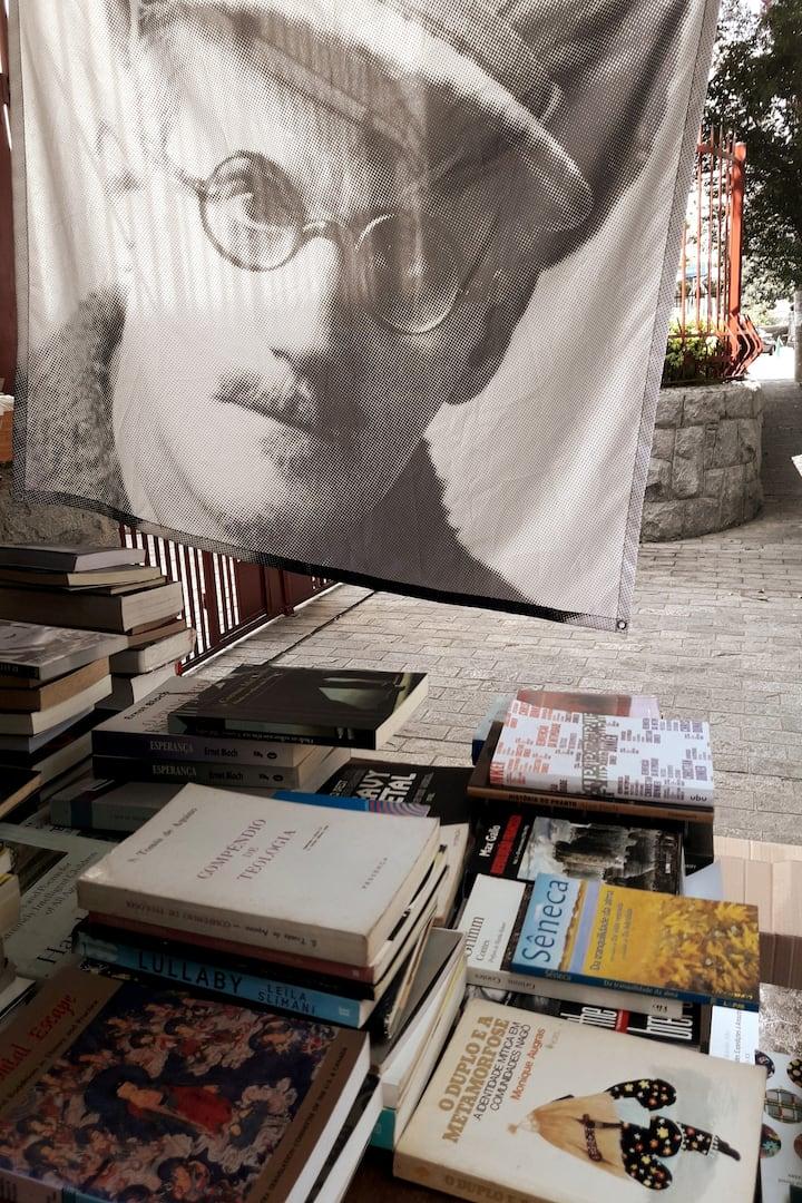second hand bookshop