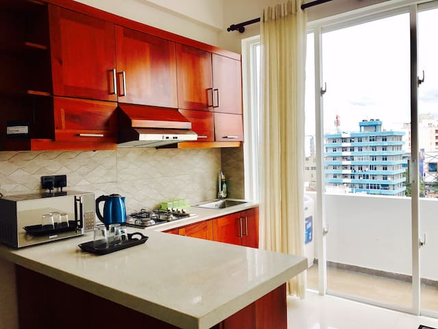 1 Bedroom private apartment on 6th floor