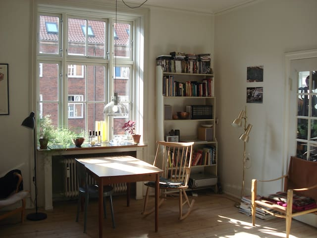 Charming funkis appartment in Vesterbro