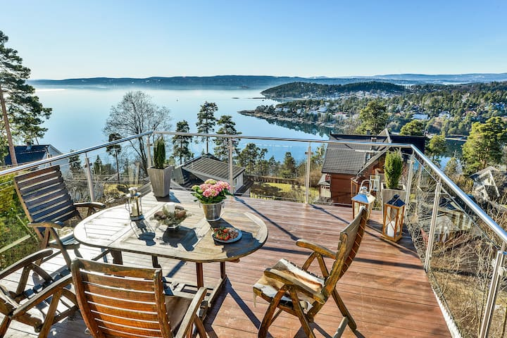 Stunning views in a quiet villa area - Oslo - Vila