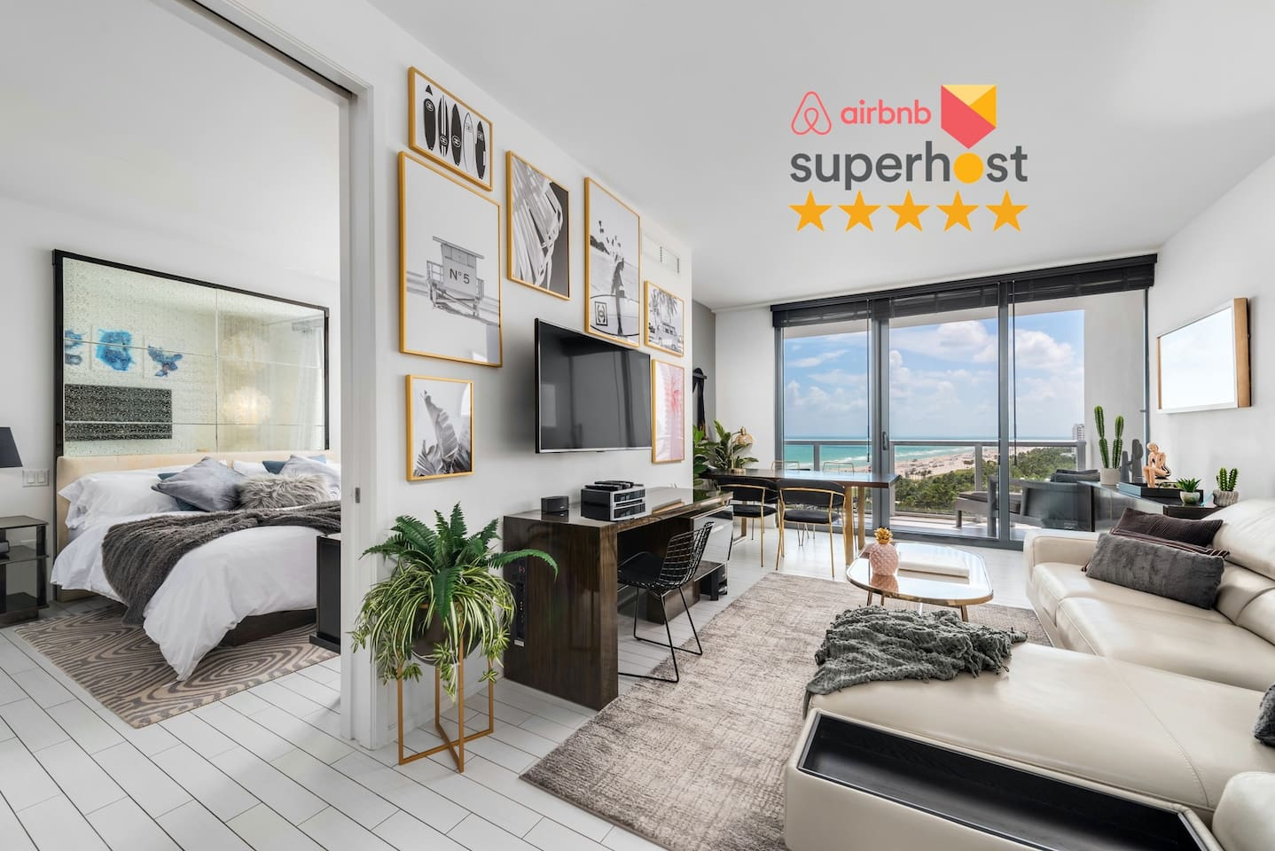 W HOTEL SOUTH BEACH RESIDENCES 1 BEDROOM UNIT WITH MAGICAL OCEAN VIEW