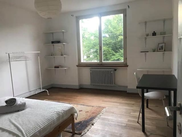 Zurich CITY CENTER - Spacious Private room (20m²)