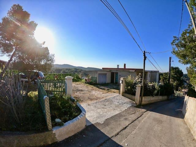 Villa secondaire en pleine nature