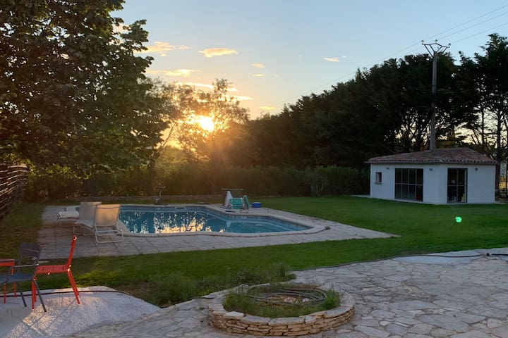 Petite maison avec piscine à Aix-en-Provence