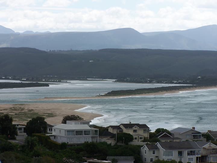 One of the best views in Plett
