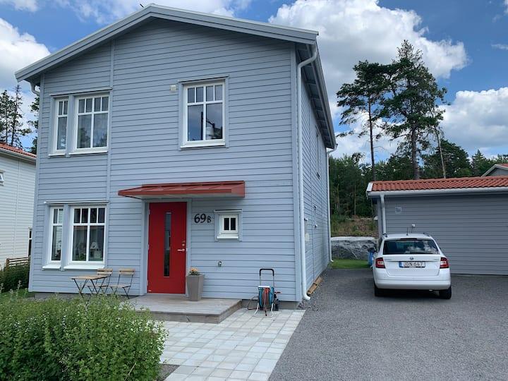 Nytt hus i Alsike