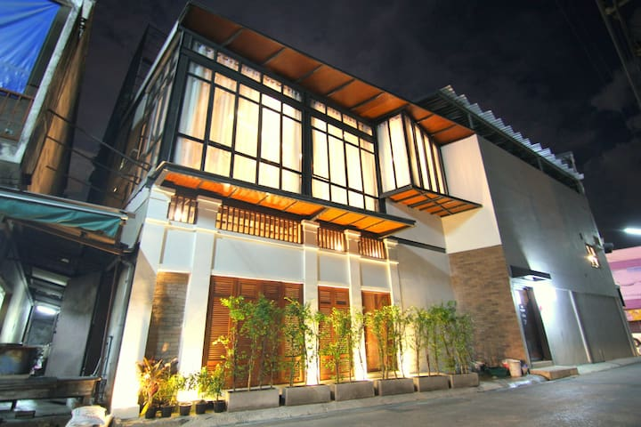 3BR-WOW-Thapae Gate LOFT-Old Town 漂亮的房子