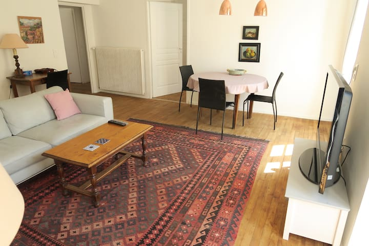 Very Central, Modern 2 bed Flat - Cahors - Daire
