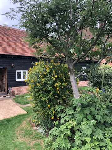 The Little Barn, cosy with a touch of luxury