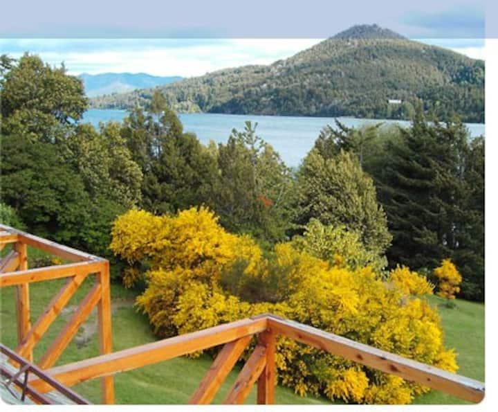 Duplex p/6 personas en Bariloche con Vista al Lago