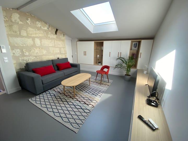 Appartement Bordeaux/Bègles à 6 arrêts de la gare