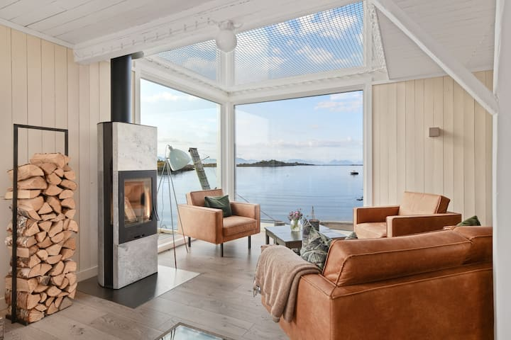 A nice fire place