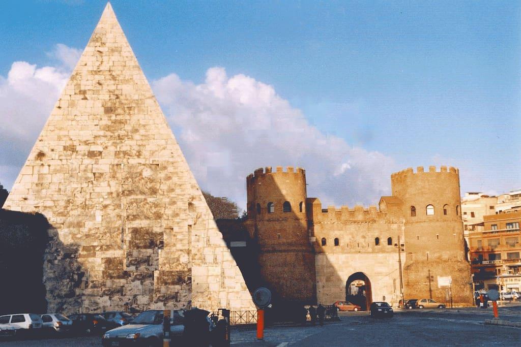 Near terme di caracalla appartamenti in affitto a roma for Affitto uffici roma piramide