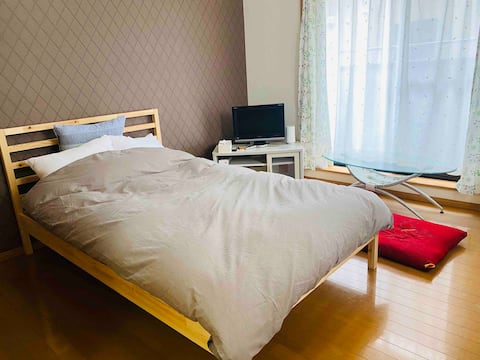 Studio apartment near Gunma University with 1 bath