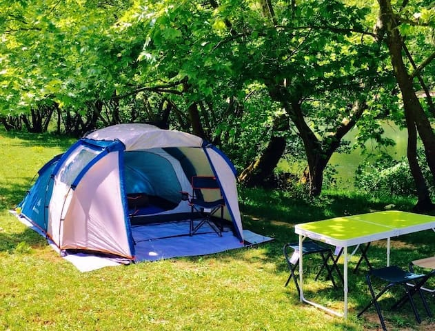 Dere Kenarı Çadır Kampı/Tent Camping Near River - Şile - Tent