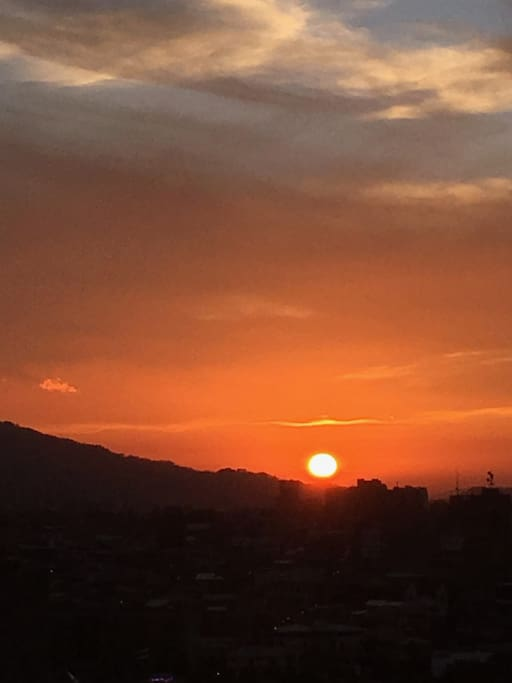 South-most sunset (CRn summer or dry season)