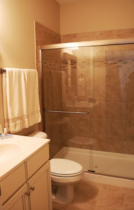Connected Private Bathroom with Shower