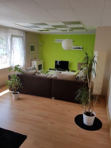 Ganze Wohnung m.Terrasse Nähe Bad Kissingen