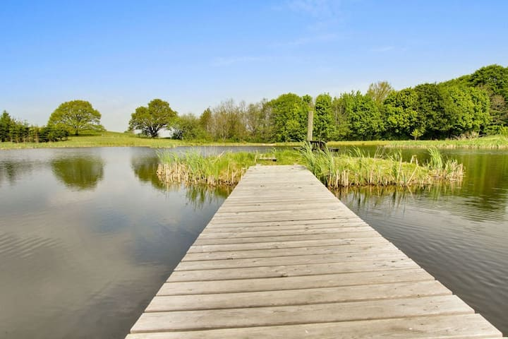 Idyllic farm stay 30min from Aarhus - Skanderborg - Apartment